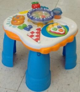 (153) Fisher Price activity table $12