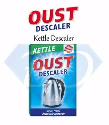 OUST Kettle Descaler - Drop In Bag - Perfect For Removing Limescale - Brand New