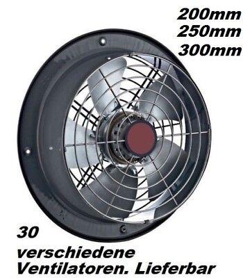 250mm  Ablüfter Abzugsventilator,  Abluftgebläse Abluftventilator abluft-zuluft