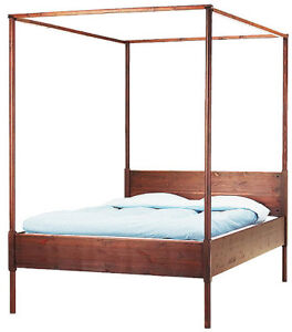 ITEM CLAIMED  July 30- Ikea four poster bed frame
