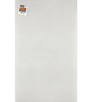 7 Mesh Count Clear Plastic Canvas Large Artist Sheet 13-5/8 x 22-5/8 1 Sheet