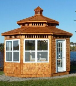 Gazebo made for the Eastern Climate