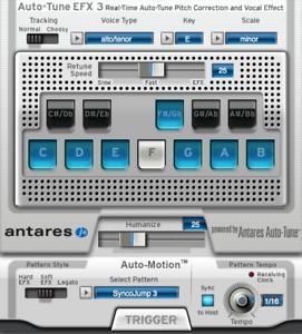 ANTARES Audio 21003 Auto-tune EFX 3 Vocal Effects Processor