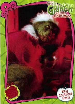 Grinch Who Stole Christmas Costumes (The Grinch Who Stole Christmas Costume Card CC3 Piece of Santa Suit Movie)