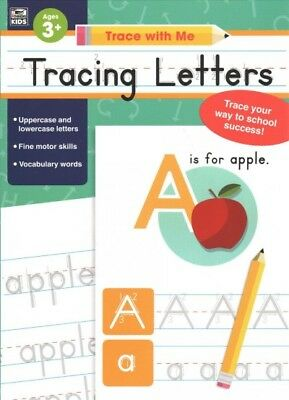 Trace Letters Kids - Tracing Letters Ages 3+, Paperback by Thinking Kids (COR); Carson-Dellosa Pub...