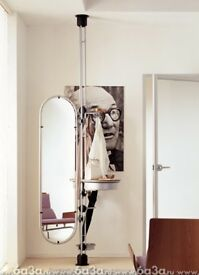 "Designer floor to ceiling mirror by Porada ""Cuccagna"" design"