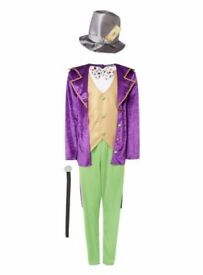 Brand new with tags Willy Wonka dress up costume 7-8 and 9-10 years
