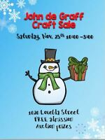 Craft Sale -  John De Graff school