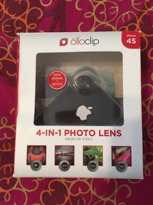 Brand new 4-in-1 photo lens olloclip for iphone 4S