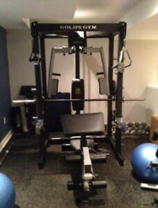 Home Gym Smith Machine