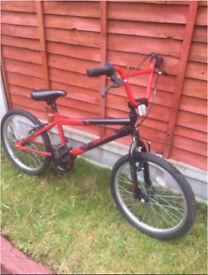 Bmx Bike red/black fully working