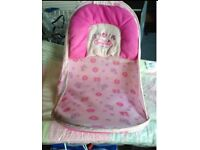 Baby bather and nappy changing mat