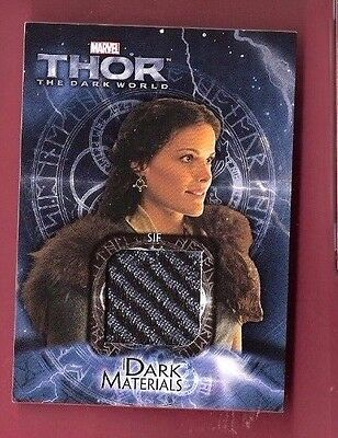 JAIMIE ALEXANDER LADY SIF THOR WORN COSTUME RELIC SWATCH card BLIND SPOT TATTOO (Lady Thor Costume)