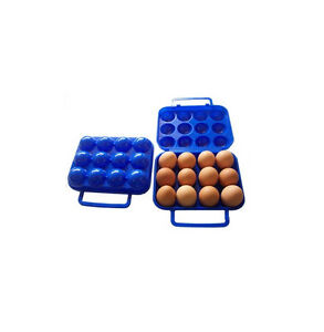 Professional Folding Eggs Carry Case Box (For 2/6/12 eggs) Picnic Container EWUK