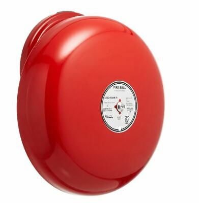 Edwards Est 323d-10aw-r 10-inch Single Stroke Fire Bell Red
