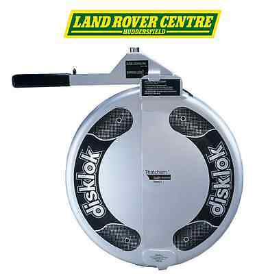 Disklok (Large) Steering Wheel Lock Suit  Land Rover Series / Defender silver