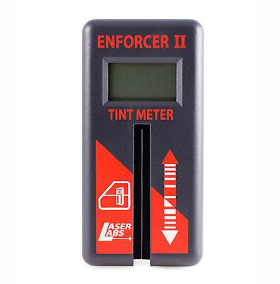 Tint Meter Enforcer II**free shipping ** 1-piece meter for roll-down windows
