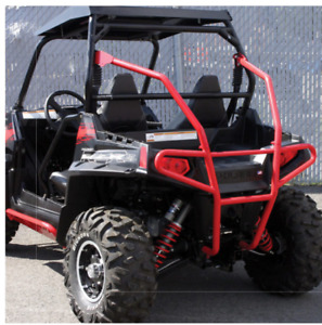 Quadrax Elite Rear Bumper - Polaris RZR 800, 900 & 1000