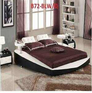 brand new rosetta bed queen size black or brown or black & white Casula Liverpool Area Preview