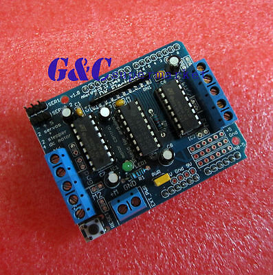 New Motor Drive Shield Expansion Board L293D for Arduino Mega UNO Due M21
