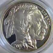 2001 American Buffalo Proof Silver Dollar