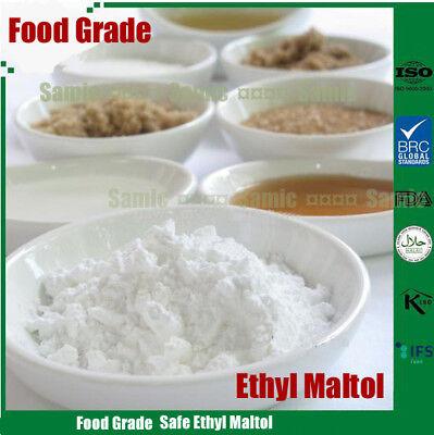 100g Ethyl Maltol Powder Food additives Concentrated Flavoring