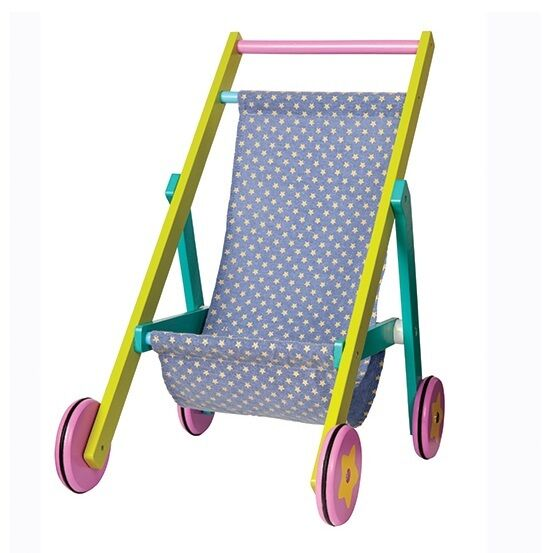 BoiKido DOLLS BUGGY Childrens Kids Push Along STROLLER Toy