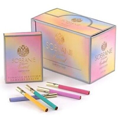 Sobranie Cocktail London Collectors Cigarettes Tobacco 1Pcs  Individual Box