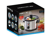 Daewoo 1.5L Compact Slow Cooker