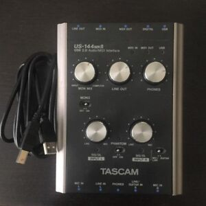 TASCAM US-144 MkII Audio Interface for MAC