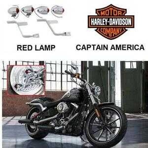 NEW V-TWIN MARKER LAMP KIT 33-0577 241497690 FOR BRAKE AND TAIL MOTORCYCLE HARLEY DAVIDSON CAPTAIN AMERICA BIKE
