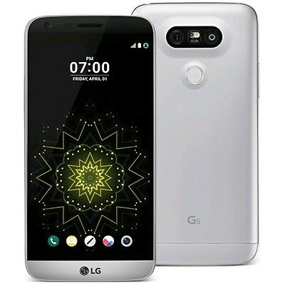LG G5 H820 (Latest Model) - 32GB - Silver - AT&T - Smartphone