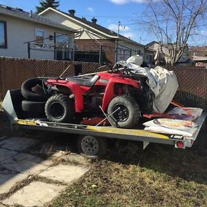 VTT or Snowmobile dumper Trailer