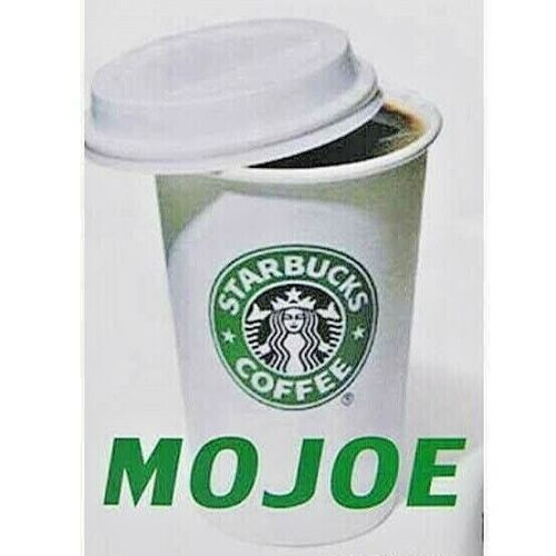 MOJOE VANISHING COFFEE MAGIC TRICK FITS EASY TO FIND 16 OUNCE PAPER COFFEE CUP