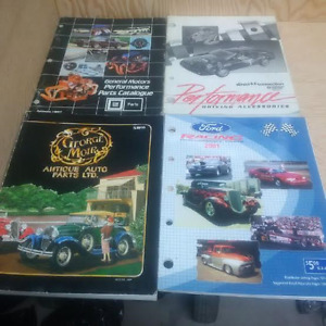 Factory Ford,Chev,Mopar and George Mohr Catalogues
