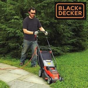 "NEW* BLACK  DECKER LAWNMOWER 15"" - 128130961 - LAWN MOWER  ELECTRIC CORDED 10-AMP"