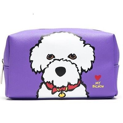 Bichon Frise Cosmetic Case -by Marc Tetro - Lovely quality item -...
