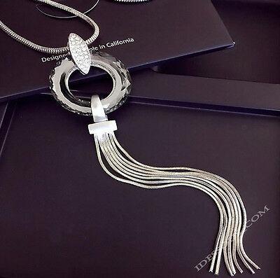 Usado, Mujer COLLAR JOYAS COLLAR Collar de cadena plata largos 75cm Regalo segunda mano  Embacar hacia Argentina