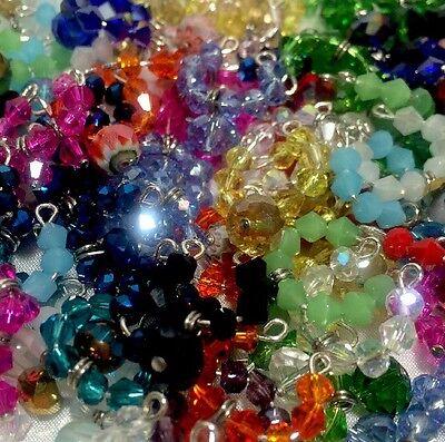 """Accessories"" For Littlest Pet Shop Set #1: 3 Random Crystal Collars & 3 Bows."