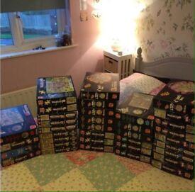 Bundle of 40 wasgij puzzles