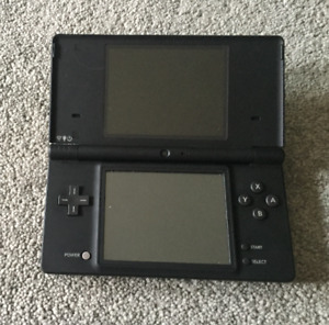 Nintendo DSi Black + Case + 6 Games