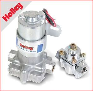 Holley - 110 GPH ''Blue'' Electric Fuel Pump with Regulator