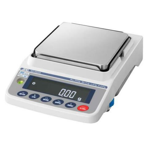 A&D Apollo GX-10002A Precision Lab Balance,Scale 10,200 g X 0.01 g Internal Cal