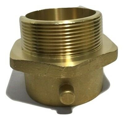 Fire Hose Adapter Pin Lug Fitting Material Brass X Brass Size 3 X 2-12