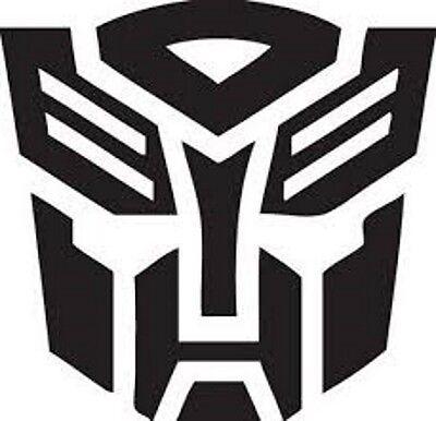 Vinyl Decal Truck Car Sticker Laptop - Transformers Autobots Bumblebee Logo