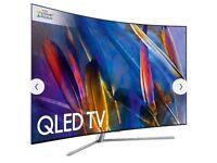 Samsung TV QE65Q7C Curved QLED HDR 1500 4K Ultra HD Smart TV, 65 Inch