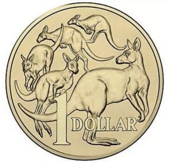 2018 AUSTRALIAN $1 COIN - MOB OF ROOS