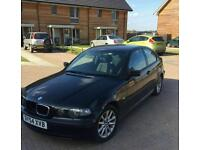 2004 54 plate BMW compact 90k selling spares or repairs starts n drives £550