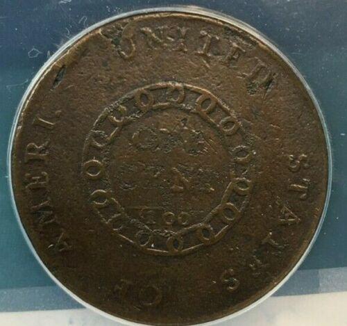 """1793 CHAIN CENT """"AMERI."""" S-1 - ANACS G-4 DETAILS"""