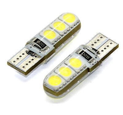 2x T10 Lampen mit 6x5050-Samsung-SMD Xenon Weiss Canbus 12V 2 Stück
